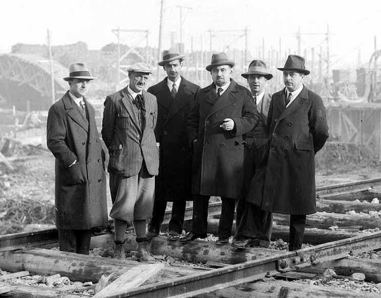 foto 01, anno 1932 Cantiere Ponte Littorio - Seminario EUGENIO MIOZZI Ateneo Vento 29 novembre 2019 Ordine Ingegneri Venezia Collegio Ingegneri Venezia.JPG