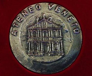 06 XXXV Premio Pietro Torta 2019 Ateneo Veneto Ordine Ingegneri Venezia Collegio Inegneri Venezia MEDAGLIA