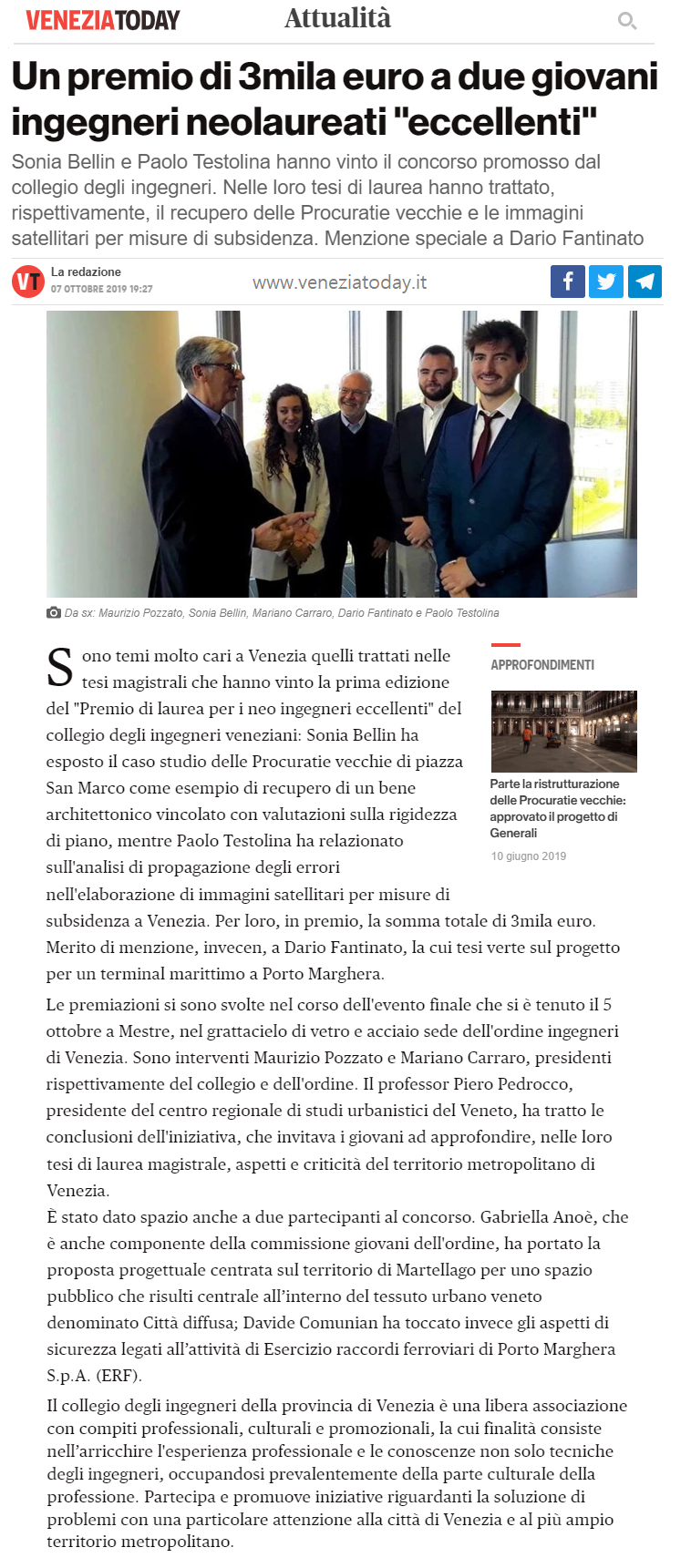07 07.10.2019 - Venezia Today - Premio di Laurea 2019 Collegio e Ordine Ingegneri Venezia.png