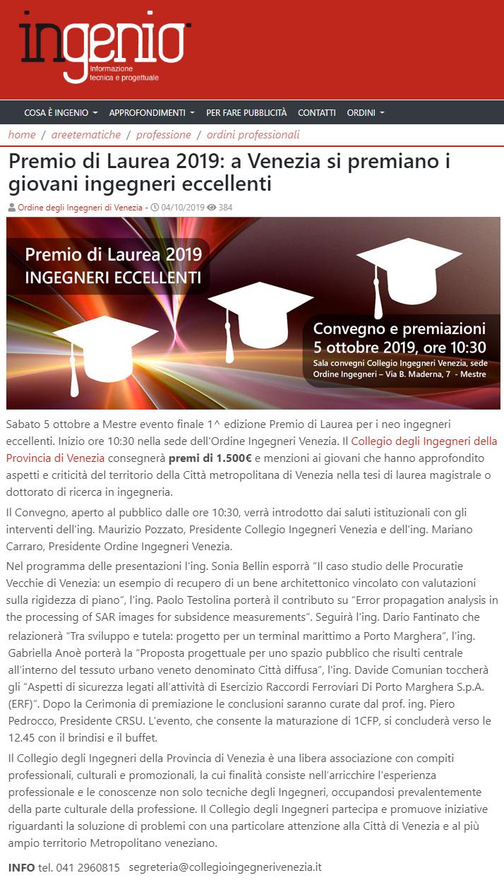 09 04.10.2019 - ingenio - Premio di Laurea 2019 Collegio e Ordine Ingegneri Venezia.png