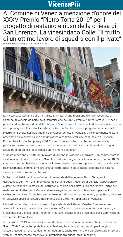 16.11.2019 vicenza più - Premio Torta per il restauro ORDINE INGEGNERI CITTà DI VENEZIA.png