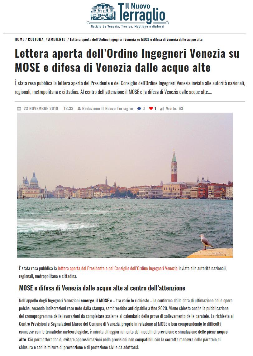23.11.2019 Il Nuovo Terraglio - Lettera Aperta Ordine Ingegneri Venezia MOSE.png