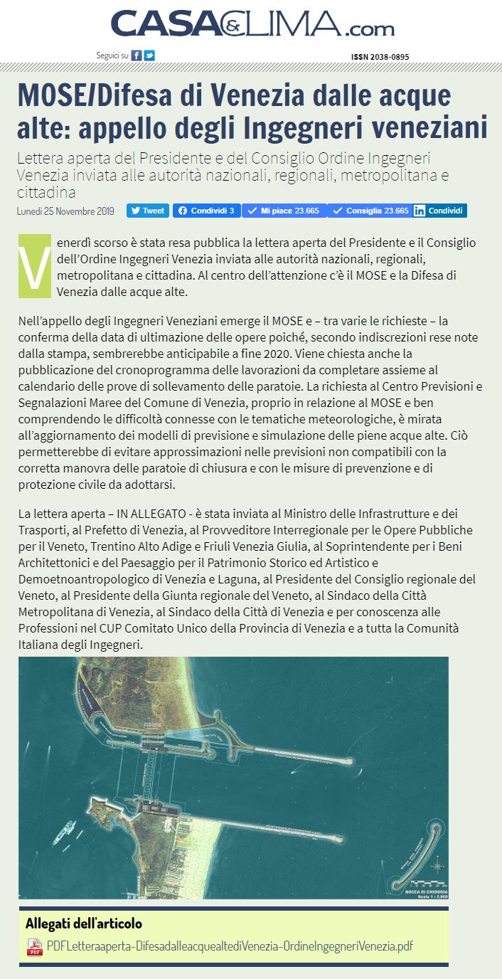 25.11.2019 Casa & Clima - MOSE Lettera Aperta Ordine Ingegneri Venezia.png