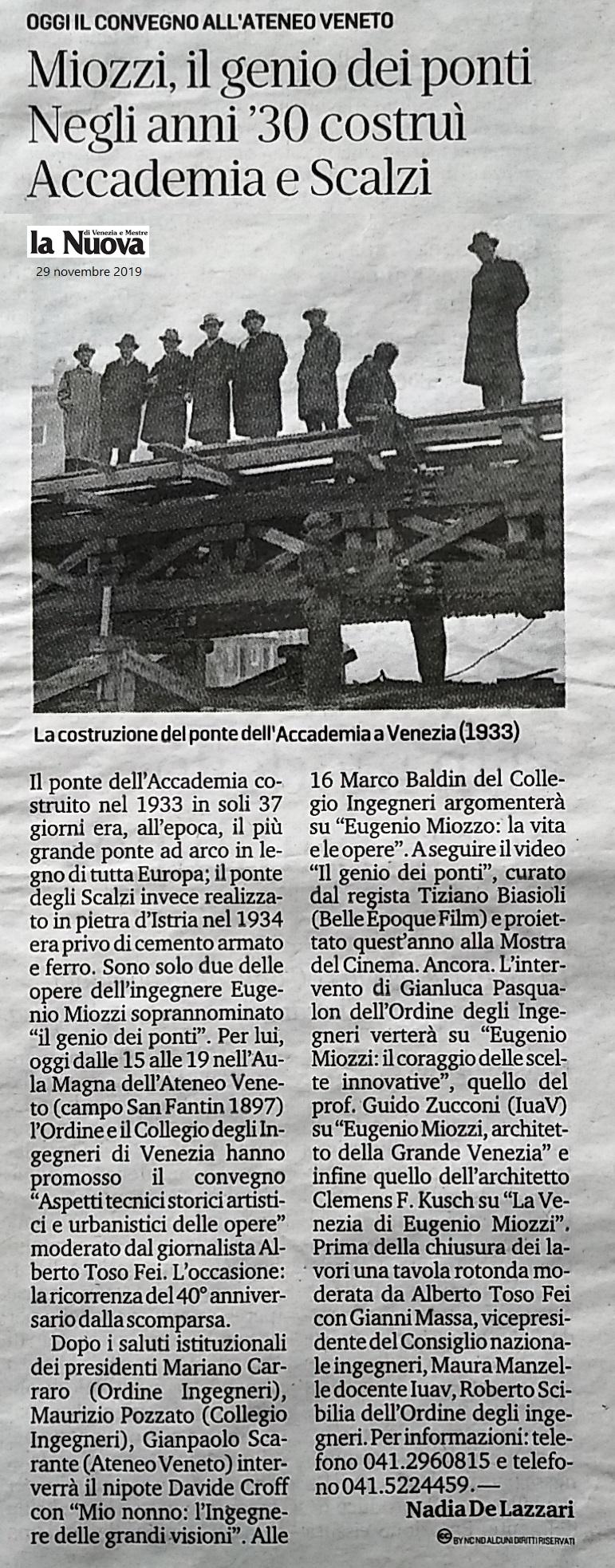 29.11.2019 la Nuova Venezia - Seminario Ing. Miozzi Ordine e Collegio Ingegneri Venezia.jpg