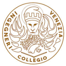 logo 03 Collegio Ingegneri Venezia XXXV Premio Pietro Torta 2019 Ateneo Veneto Ordine Ingegneri Venezia Collegio Inegneri Venezia Murizio Pozzato