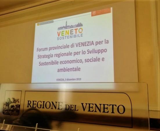 02 Veneto Sostenibile regione del veneto 3 dicembre 2019 agenda 2030