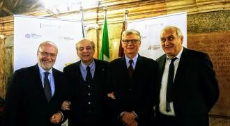 00 Armano Zambrano, Mariano Carraro, Maurizio Pozzato e Pasqualino Boschetto sul Convegno MoSE