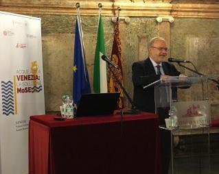 010 Convegno Acque Alte a Venezia la soluzione MoSE - 8 febbraio 2020 CNI Ordine e Collegio Ingegneri Venezia FOIV in Ateneo Veneto