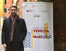 0100 Convegno Acque Alte a Venezia la soluzione MoSE - 8 febbraio 2020 CNI Ordine e Collegio Ingegneri Venezia FOIV in Ateneo Veneto