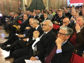 018 Convegno Acque Alte a Venezia la soluzione MoSE - 8 febbraio 2020 CNI Ordine e Collegio Ingegneri Venezia FOIV in Ateneo Veneto