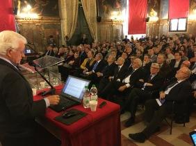 020 Convegno Acque Alte a Venezia la soluzione MoSE - 8 febbraio 2020 CNI Ordine e Collegio Ingegneri Venezia FOIV in Ateneo Veneto