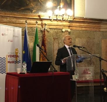 021 Convegno Acque Alte a Venezia la soluzione MoSE - 8 febbraio 2020 CNI Ordine e Collegio Ingegneri Venezia FOIV in Ateneo Veneto