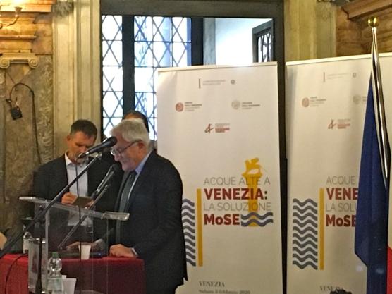 023 Convegno Acque Alte a Venezia la soluzione MoSE - 8 febbraio 2020 CNI Ordine e Collegio Ingegneri Venezia FOIV in Ateneo Veneto