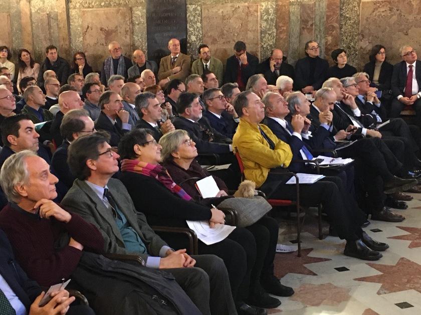 024 Convegno Acque Alte a Venezia la soluzione MoSE - 8 febbraio 2020 CNI Ordine e Collegio Ingegneri Venezia FOIV in Ateneo Veneto