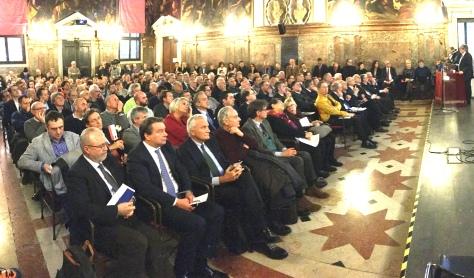 026 Convegno Acque Alte a Venezia la soluzione MoSE - 8 febbraio 2020 CNI Ordine e Collegio Ingegneri Venezia FOIV in Ateneo Veneto
