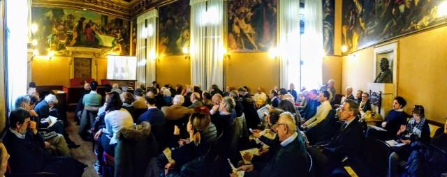 03 Convegno Acque Alte a Venezia la soluzione MoSE - 8 febbraio 2020 CNI Ordine e Collegio Ingegneri Venezia FOIV in Ateneo Veneto