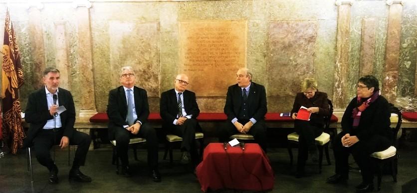 06 Convegno Acque Alte a Venezia la soluzione MoSE - 8 febbraio 2020 CNI Ordine e Collegio Ingegneri Venezia FOIV in Ateneo Veneto