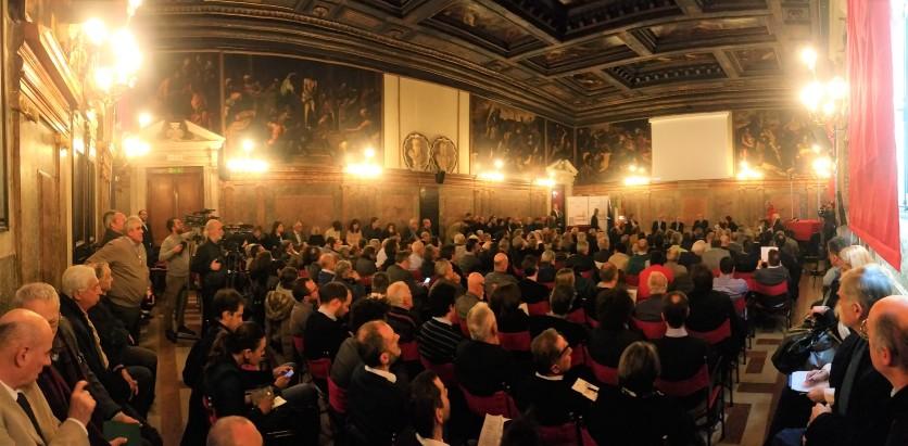 07 Convegno Acque Alte a Venezia la soluzione MoSE - 8 febbraio 2020 CNI Ordine e Collegio Ingegneri Venezia FOIV in Ateneo Veneto