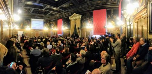 09 Convegno Acque Alte a Venezia la soluzione MoSE - 8 febbraio 2020 CNI Ordine e Collegio Ingegneri Venezia FOIV in Ateneo Veneto