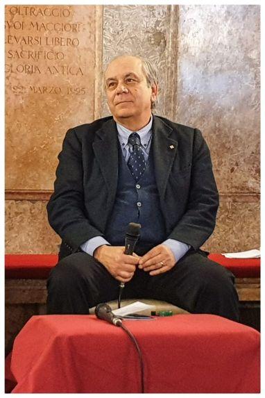 097 Convegno Acque Alte a Venezia la soluzione MoSE - 8 febbraio 2020 CNI Ordine e Collegio Ingegneri Venezia FOIV in Ateneo Veneto