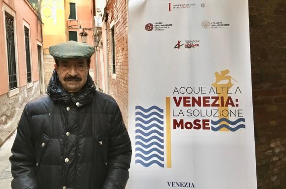 098.1 Convegno Acque Alte a Venezia la soluzione MoSE - 8 febbraio 2020 CNI Ordine e Collegio Ingegneri Venezia FOIV in Ateneo Veneto