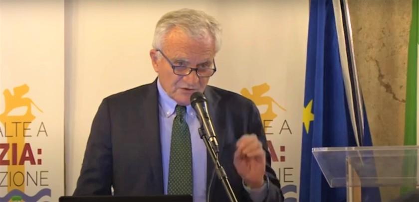 Ing. Scotti Convegno MoSE acque alte - Ordine Ingegneri Venezia Ateneo Veneto 2020
