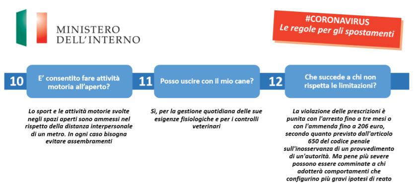 04 Ordine Ingegneri Venezia - Ministero Interno Coronavirus - le regole per spostamenti - modello autocertificazione