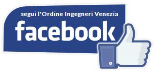 segui l'ordine ingegneri venezia su facebook