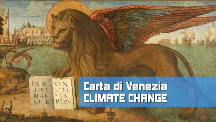 Carta di Venezia Climate Change - Ordine e Collegio Ingegneri Venezia - Evento Scuola Grande San Rocco 23 luglio 2020