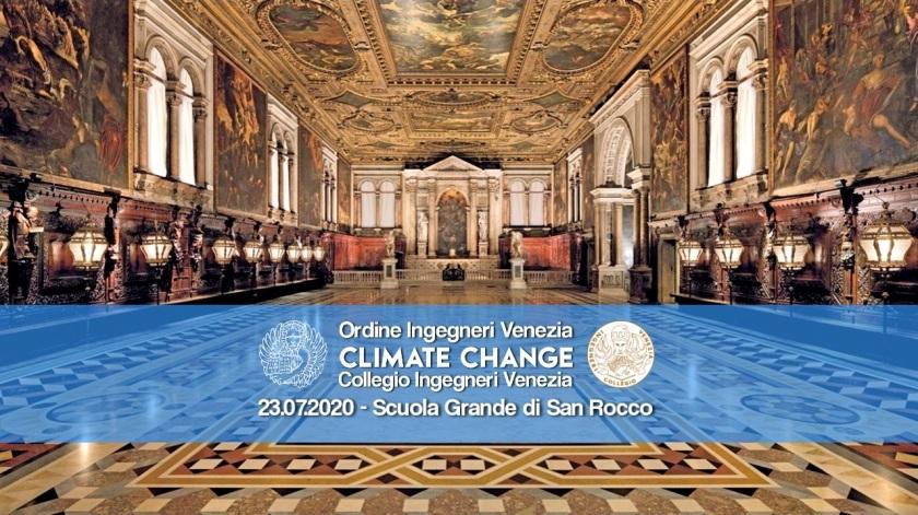Carta di Venezia Climate Change - Ordine e Collegio Ingegneri Venezia - Scuola Grande San Rocco 23 luglio 2020 Sala Plenaria