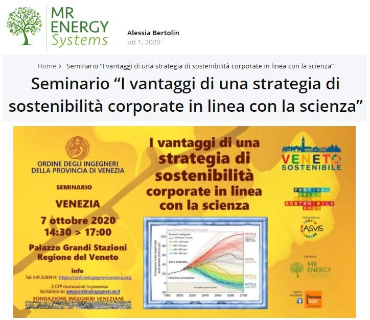 www.mrenergy.it - sviluppo sostenibile - 7 ottobre 2020 - ordine ingegneri venezia